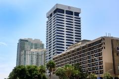 Southbank Downtown Jacksonville,  Ameris Bank Building, Ruth's Chris Steak House,  Double Tree Hilton