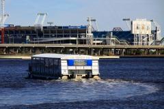 Water Taxi to Jaguars Stadium