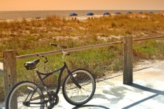 Beach cruiser at One Ocean Resort & Spa, Atlantic Beach, Florida