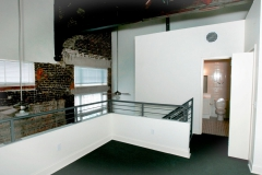 Upper level of lofts style apartment at The Lofts San Marco