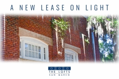 A New Lease On Light. Built 1916. Rebuilt by Cesery Companies with love.