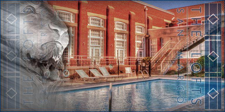 Lofts San Marco the pool