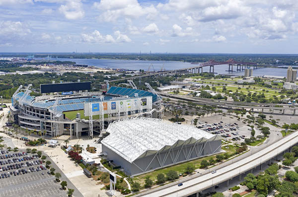 stadium and Daily's Place Jacksonville