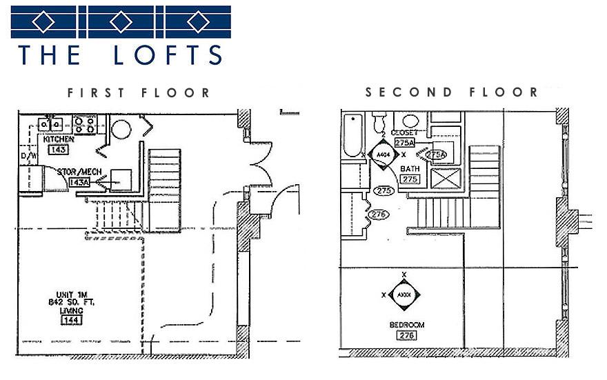 Loft apartments Style 3
